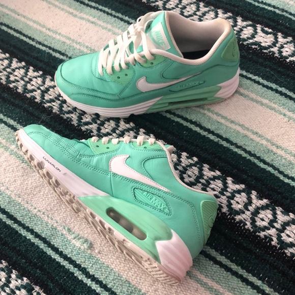 Custom mint Nike Air Max 90